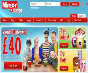 Mirror Bingo Welcome Offer
