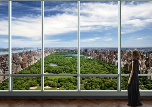 nyc penthouse record 100 million one57