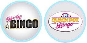new bingo sites quack pot bingo girly bingo