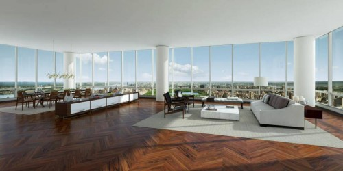 one57 nyc penthouse record 100 million
