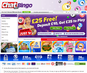 Chat Mag Bingo Screenshot