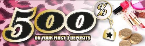 Girly Bingo New Bingo Site Banner