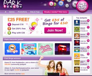 Park Bingo Screenshot