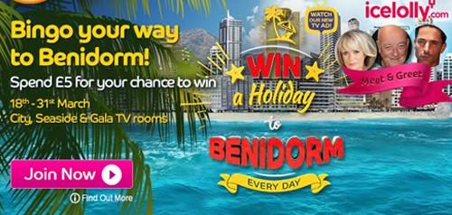 Gala Bingo Benidorm Holiday