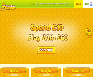 Honey Bees Bingo Screenshot