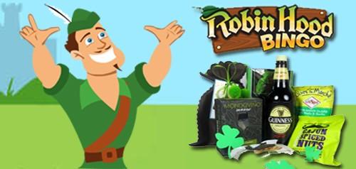 Robin Hood St Patricks Day