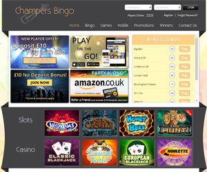 Champers Bingo Screenshot