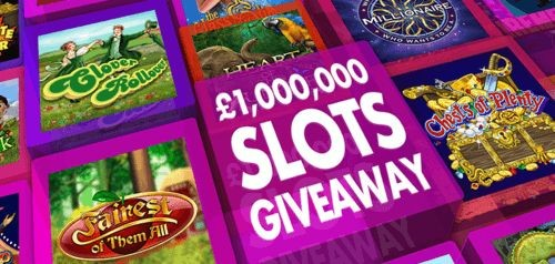 Slots Giveaway