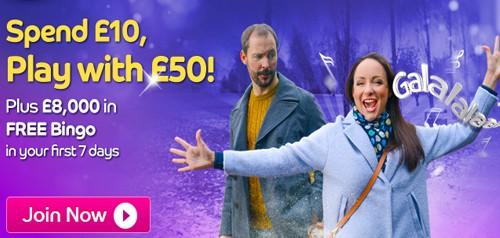 Gala Bingo New Welcome Bonus 2015
