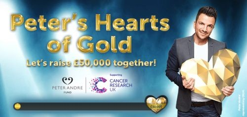 Peter Andre's Hearts of Gold at Wink Bingo