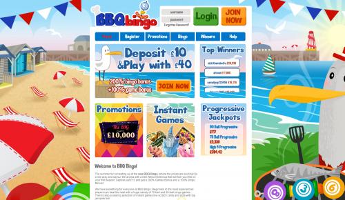 bbq bingo new bingo site