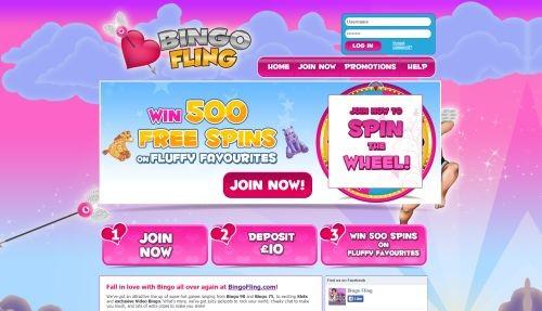 bingo fling site