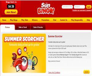 Sun Bingo Scorcher