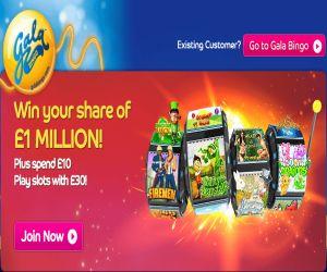 Gala Bingo Grab a Million