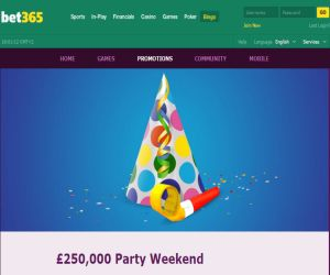 bet365 Party Weekend