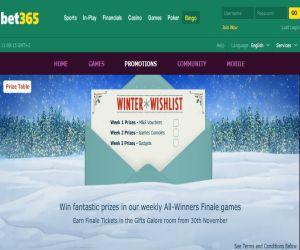bet365 winter wishlist
