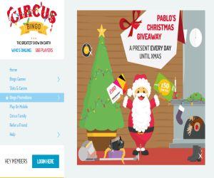 Circus Christmas Giveaway