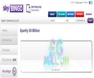 Sky Bingo 6 million