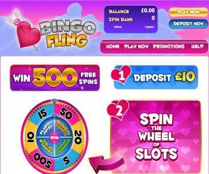 bingo fling 300 x 250