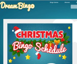 Dream Bingo Christmas