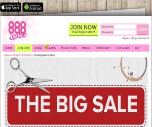 888 Ladies Big Sale