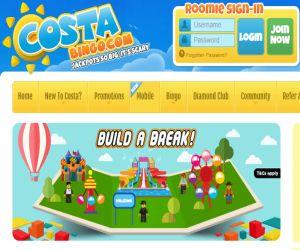 Costa Bingo's Build a Break
