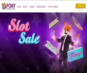 Foxy's Slot Sale