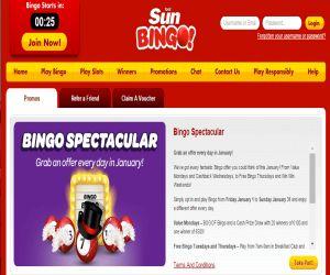 Sun Bingo Spectacular