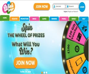 Wink's Wheel of Prizes