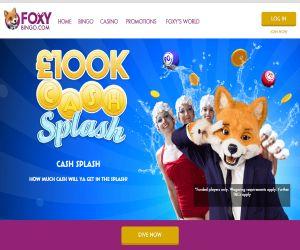 Foxy 's 100K Cash Splash