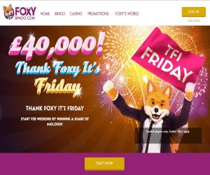 Thank Foxy It's Friday