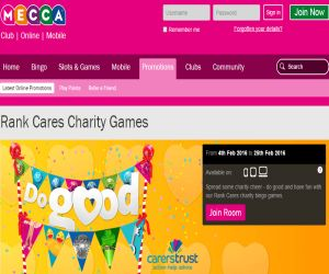 Mecca Bingo Cares Charity
