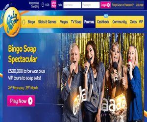 Gala Bingo Soap Spectacular