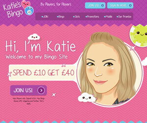 Katies Bingo Home Page