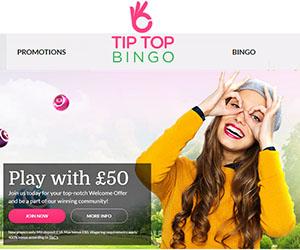 Tip Top Bingo Home 300x250