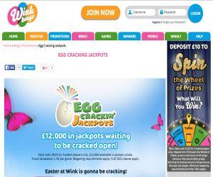 Wink Bingo Eggs Cracking