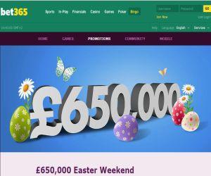 bet365 Bingo Easter Weekend