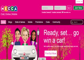 Mecca Bingo Win a Car