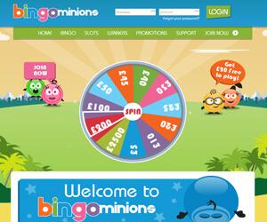 Bingo Minions Home