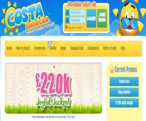Costa Bingo Joyful Jackpot