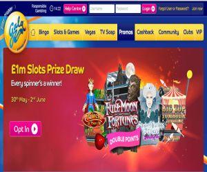 Gala Bingo 1m Slots Draw