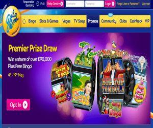 Gala Bingo Premier Prize Draw
