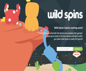 Wild Spins Coming Soon