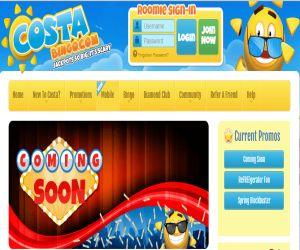 Costa Bingo Jonny Vegas