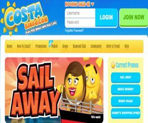 Costa Bingo Sail Away