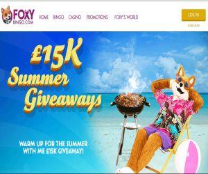 Foxys 15K Summer Giveaway