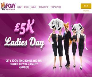 Foxys £5K Ladies Day