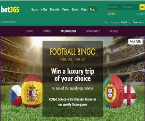 bet365 football bingo