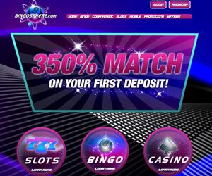 Bingosphere home page