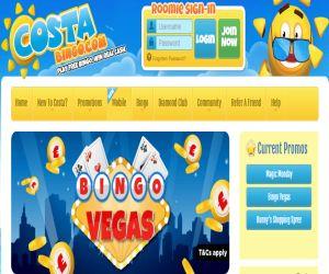 Costa Bingo Vegas